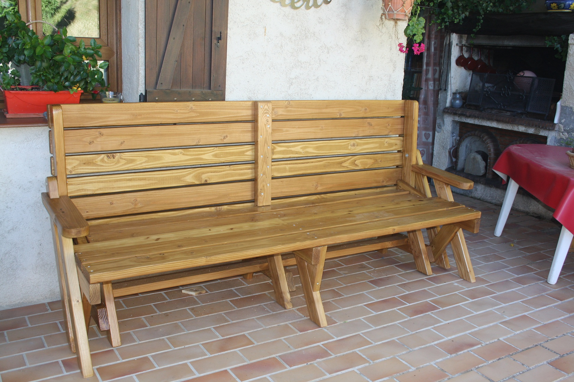 Banc-table de Alain