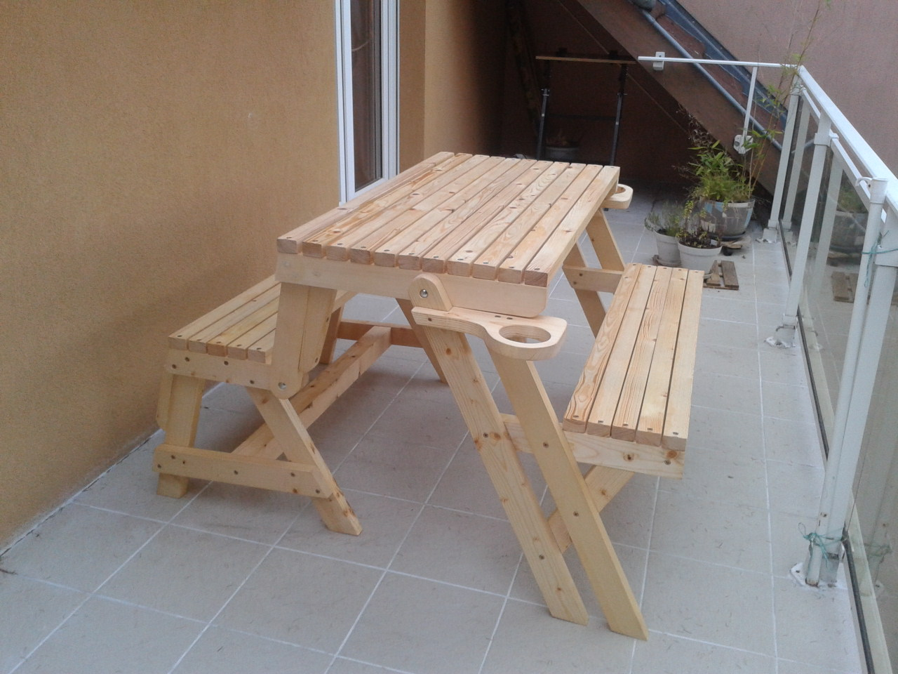 Banc-table de Emilie