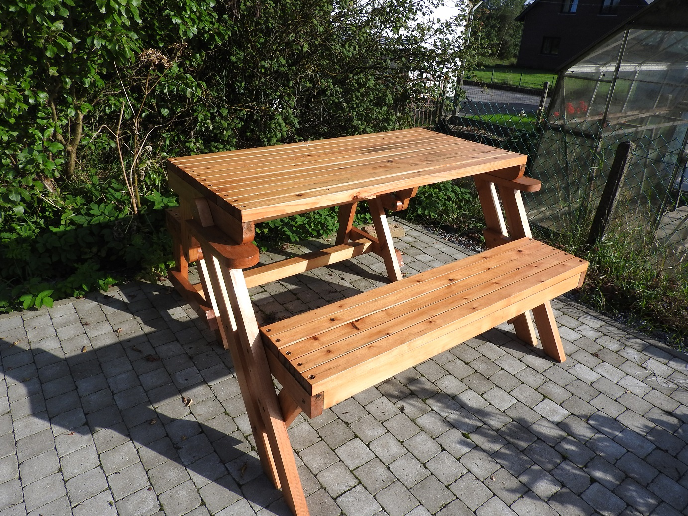 Banc-table de Evelyne