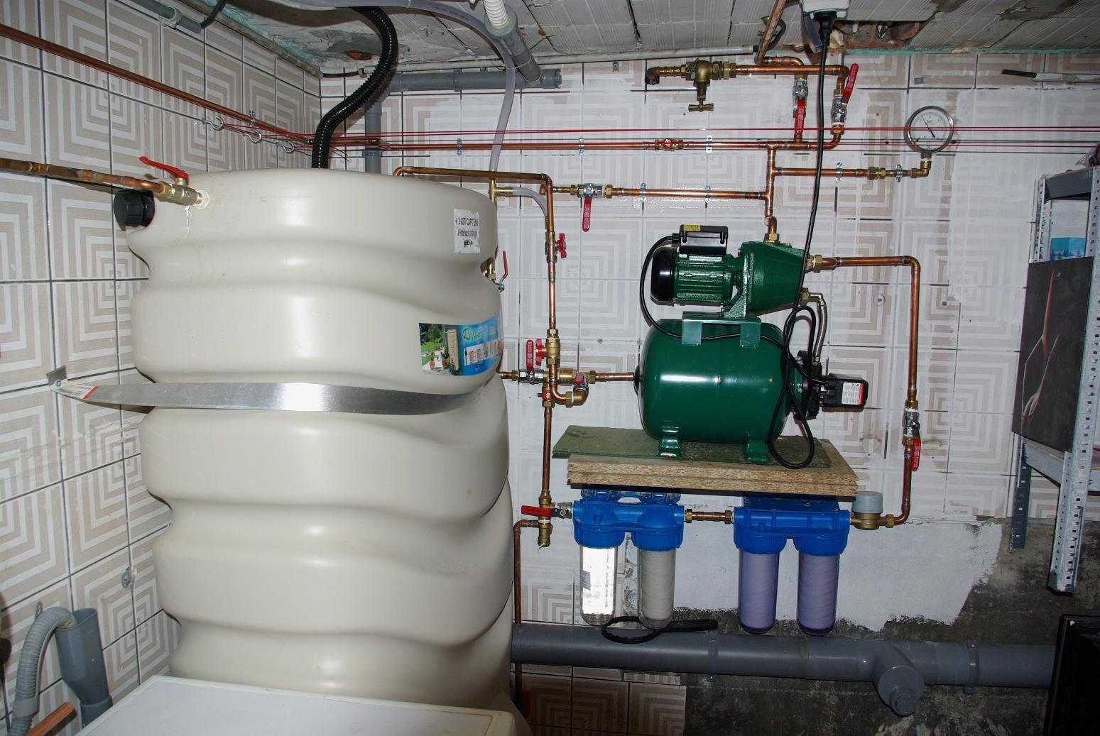 Eau de pluie aux wc for Installation d eau maison